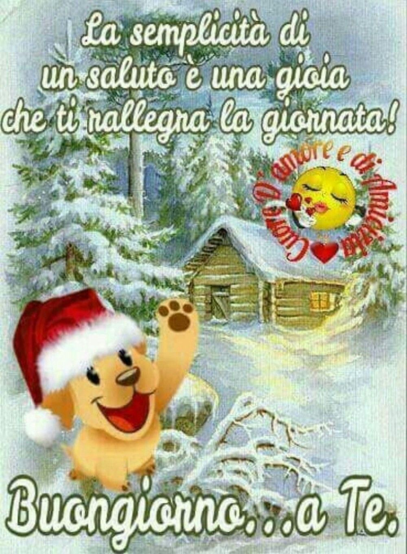 Buongiorno Inverno Natalizio Buongiorno Buongiorno Immagini E