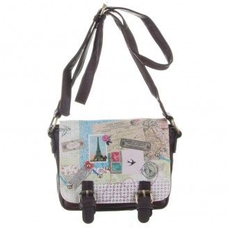 Bon Voyage Mini Satchel - Browse All - Disaster Designs - Browse by Brand | TemptationGifts.com