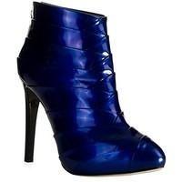 Giuseppe Zanotti Metallic Blue Ankle Boot