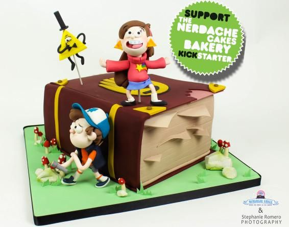 NO WAY GF CAKE Gravity Falls Pinterest Gravity falls and Cake
