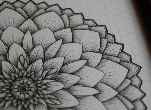6efe489b0 Mandala Designs, worksofacirclethinker: The Black Dahlia This is ...