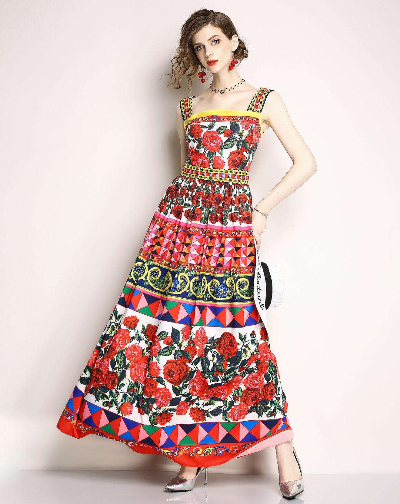 Imprimée Kaimilan Bazarchic 59eWeeding Robe Multicolore 0wNm8vn