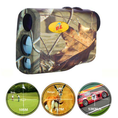 Camo Hunting Laser Range Finder Speed Finder Rangefinder For Golf