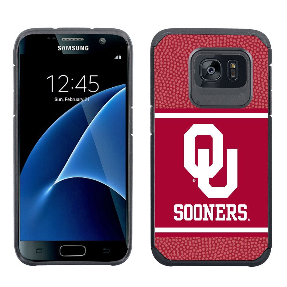 Oklahoma Sooners Red Galaxy S7 Leather Case