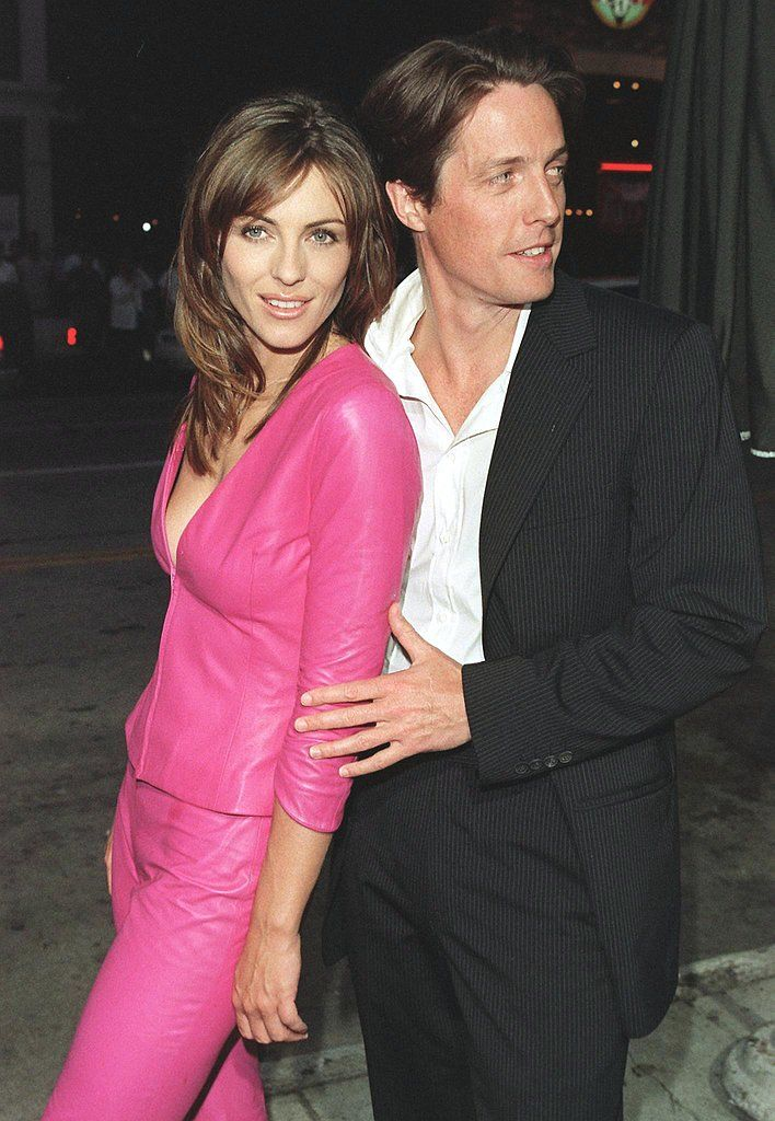 Which Celebrities Are Godparents For Their Famous Friends Elizabeth Hurley Elizabeth Hurley Hugh Grant Hurley