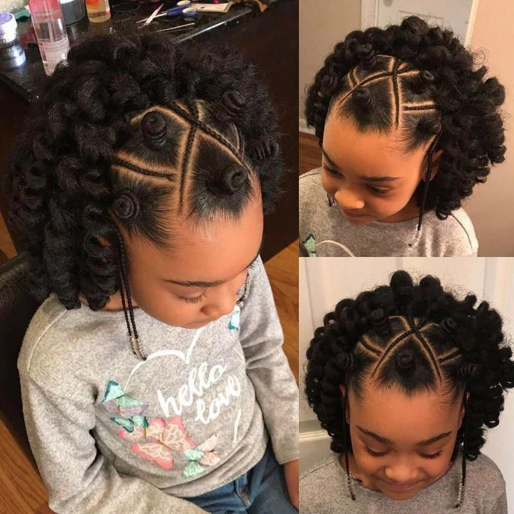 17 Young Black Queens Whose Incredible Hairstyles Will Definitely Make You Say Goals Natural Hair Styles Kids Hairstyles Kids Braided Hairstyles