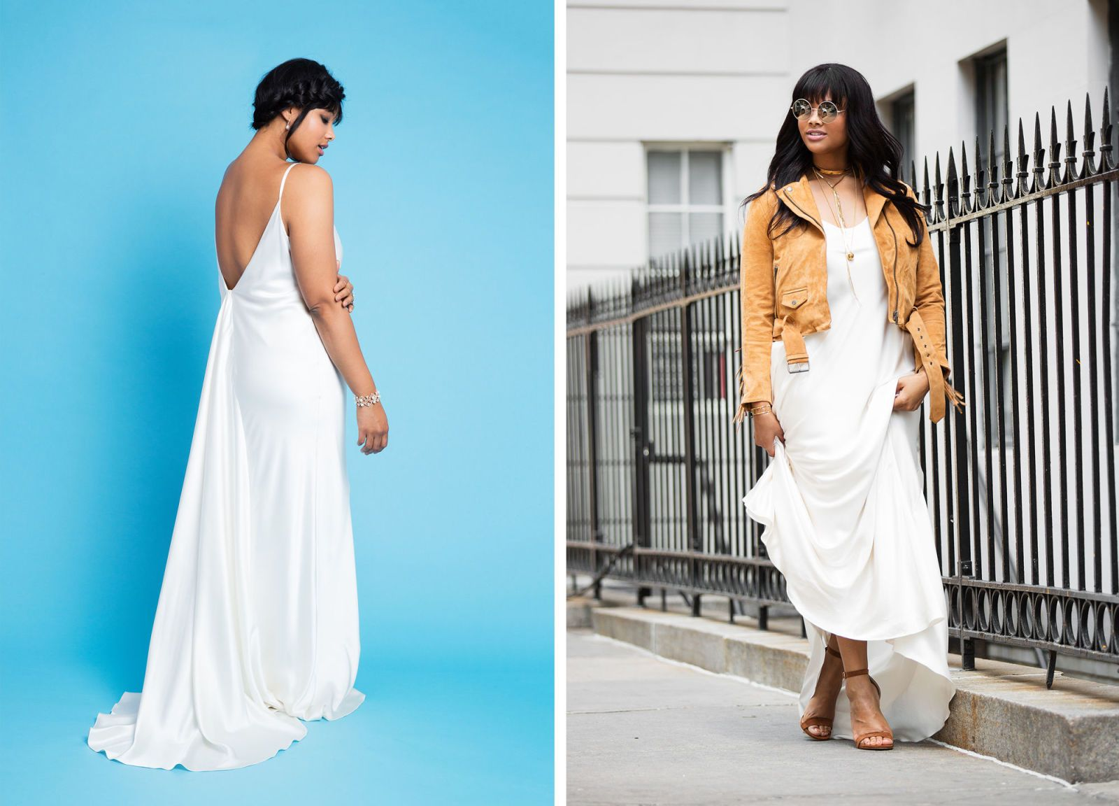 10 Stunning Ways to Rewear Your Wedding Dress | Choker necklaces ...