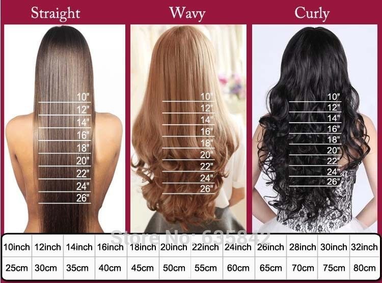"23"" 58 CM 145g Synthetic 3/4 Full Head Clip In Hair"