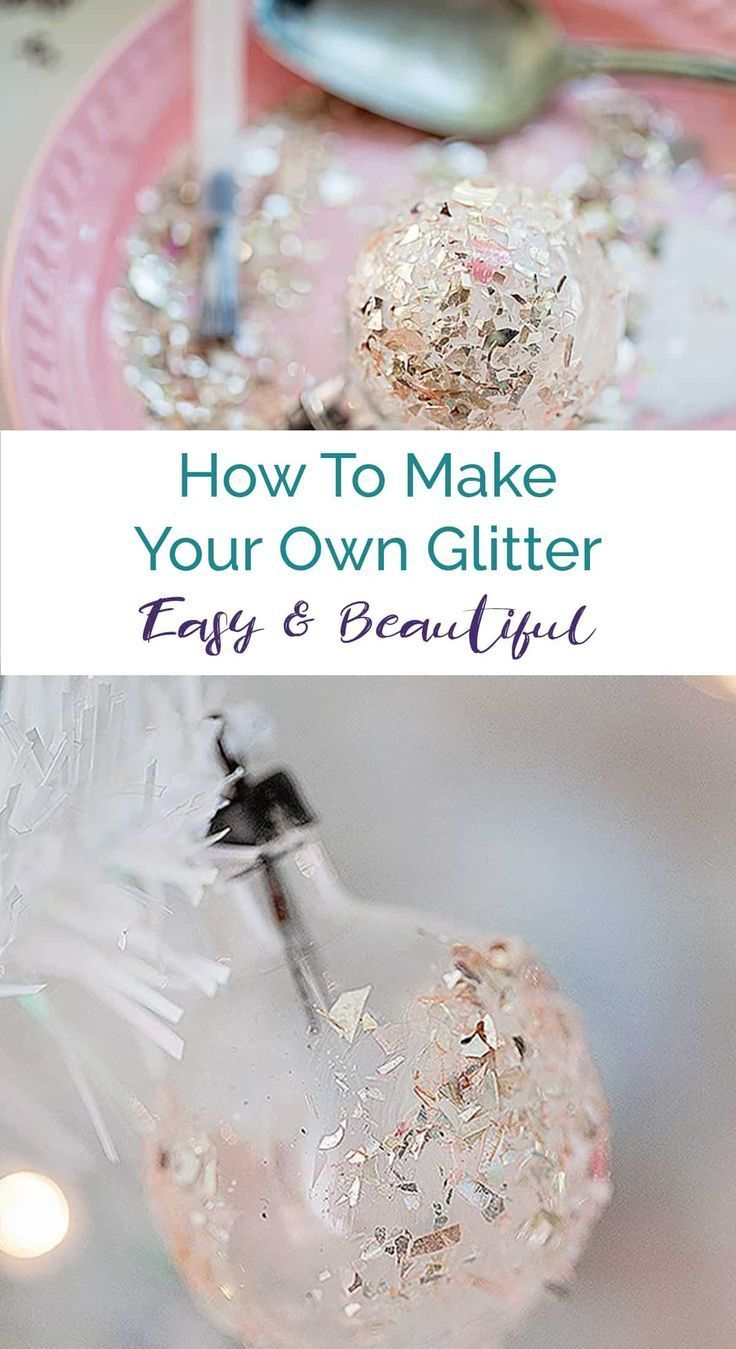 How To Make Your Own Vintage German Glass Glitter