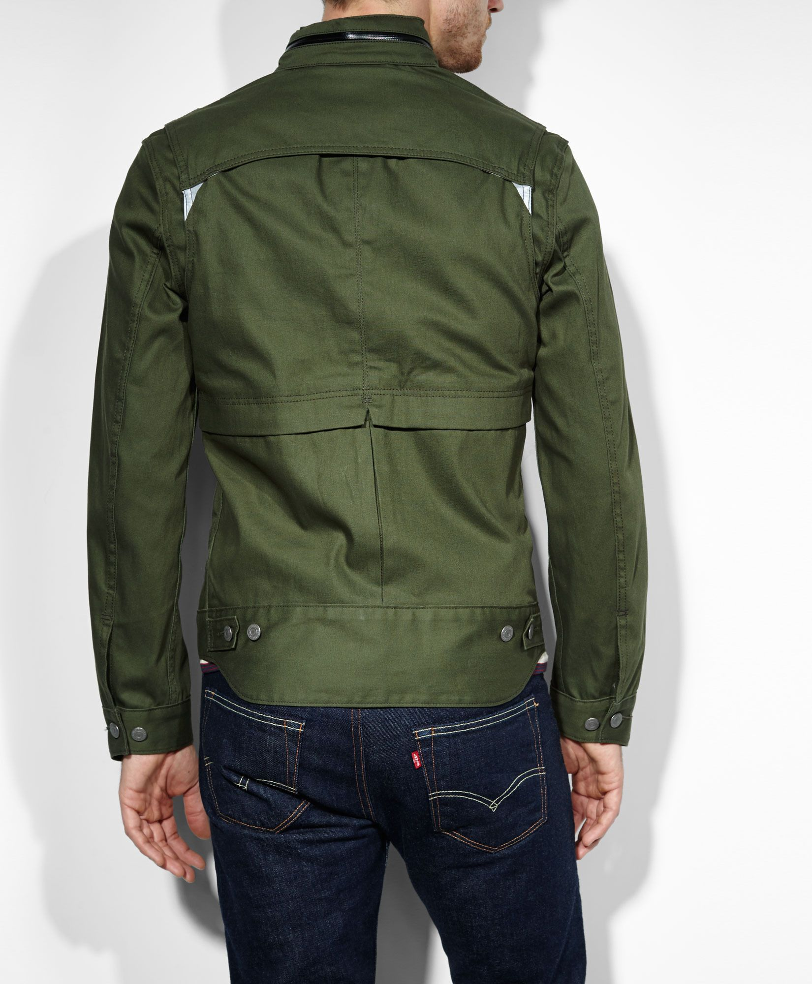Levi's Levis® Commuter™ Hooded Trucker Jacket - Forest ...