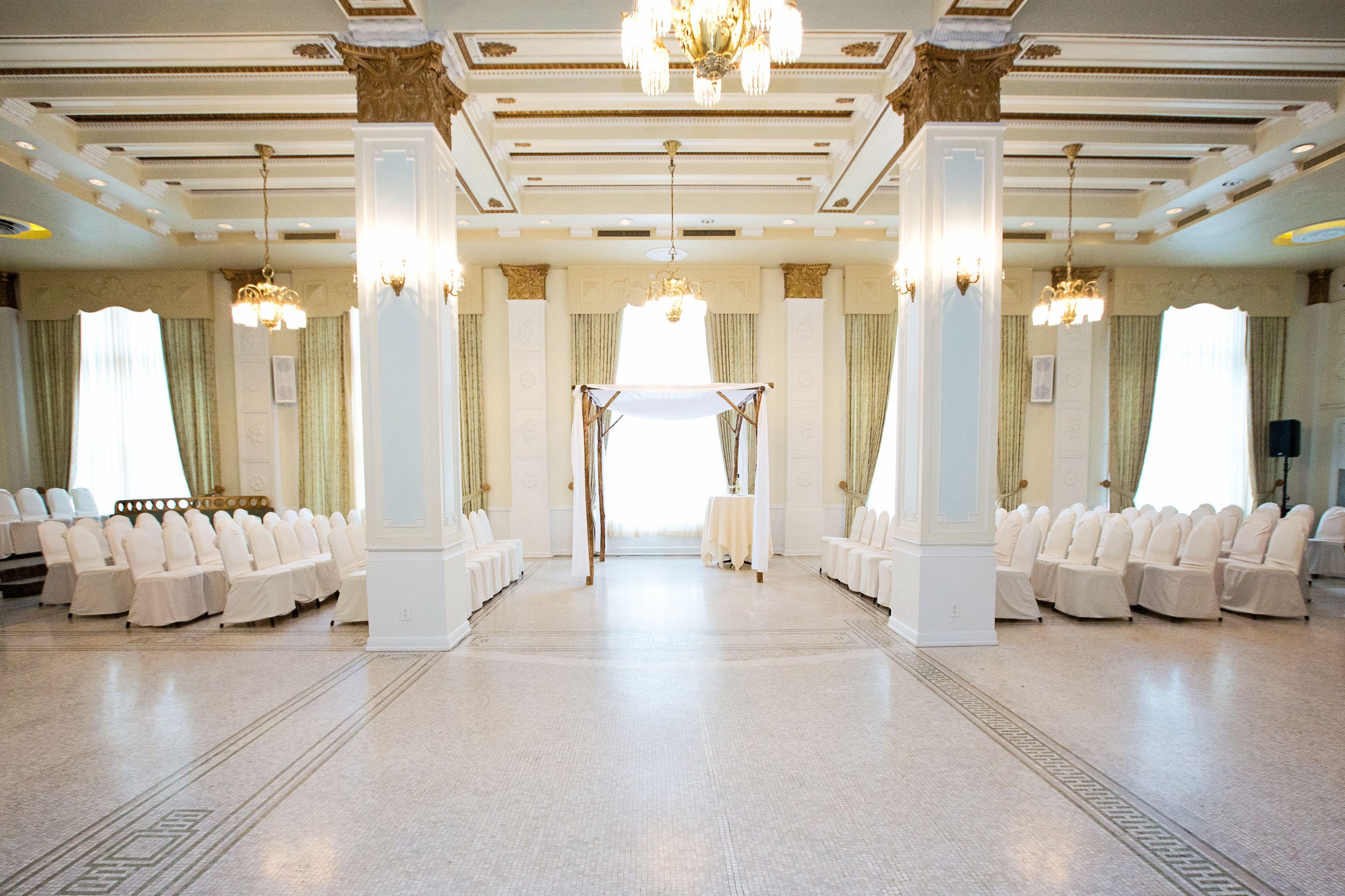 Ceremony Site - Crystal Ballroom - Hotel Lafayette ...
