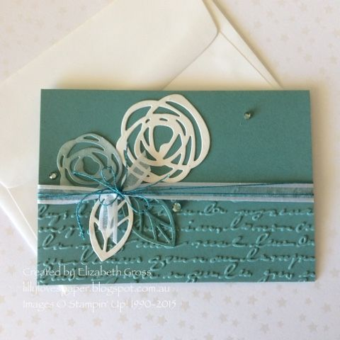 Lillybet's Papers: Wedding card