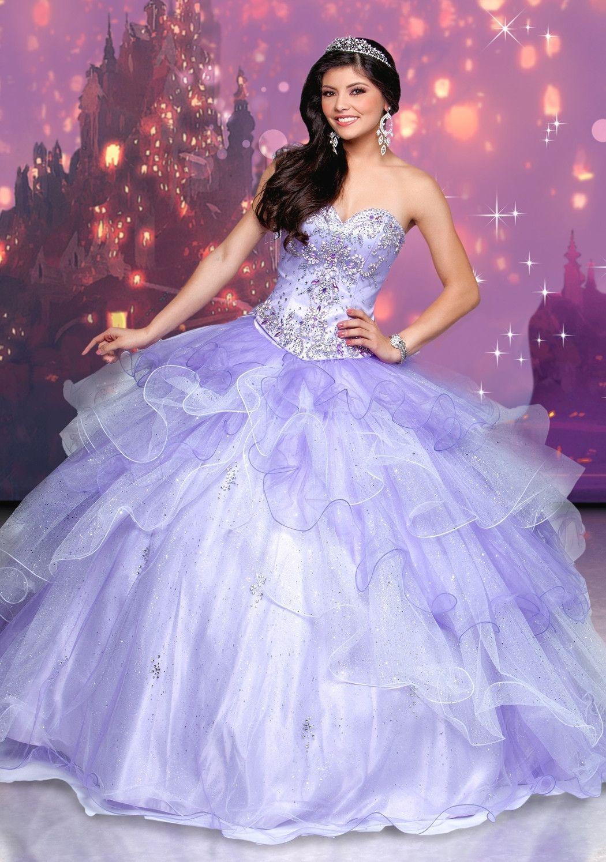 Disney Royal Ball Quinceanera Dress Rapunzel Style 41102 | Rapunzel ...