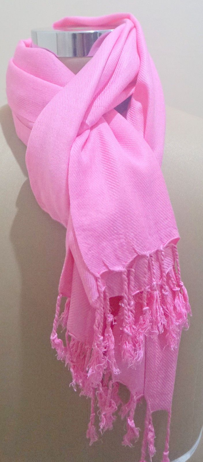 ed9e636ea Plain Pashmina Scarf Shawl Stole Wrap High Quality Many Colours 100% Viscose