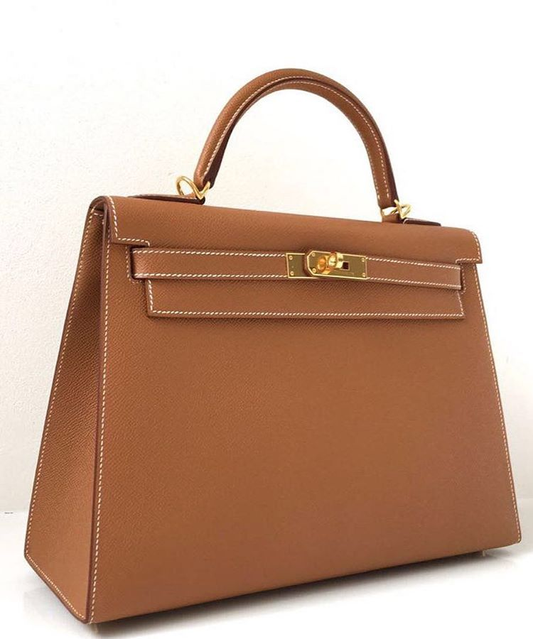 85dbbe4b9ad5 Hermes Kelly 32 Gold epsom sellier ghw