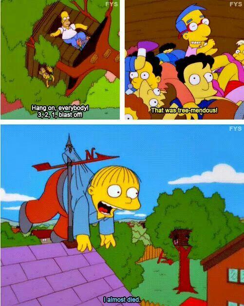 Treemendous Simpsons Funny The Simpsons Tv Show Simpsons Meme