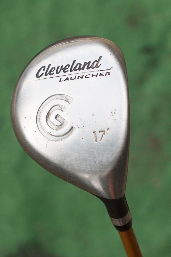 Cleveland Launcher 17 Degree Fairway Wood Used Golf Club Cleveland Golf Clubs Golf Clubs For Sale Golf
