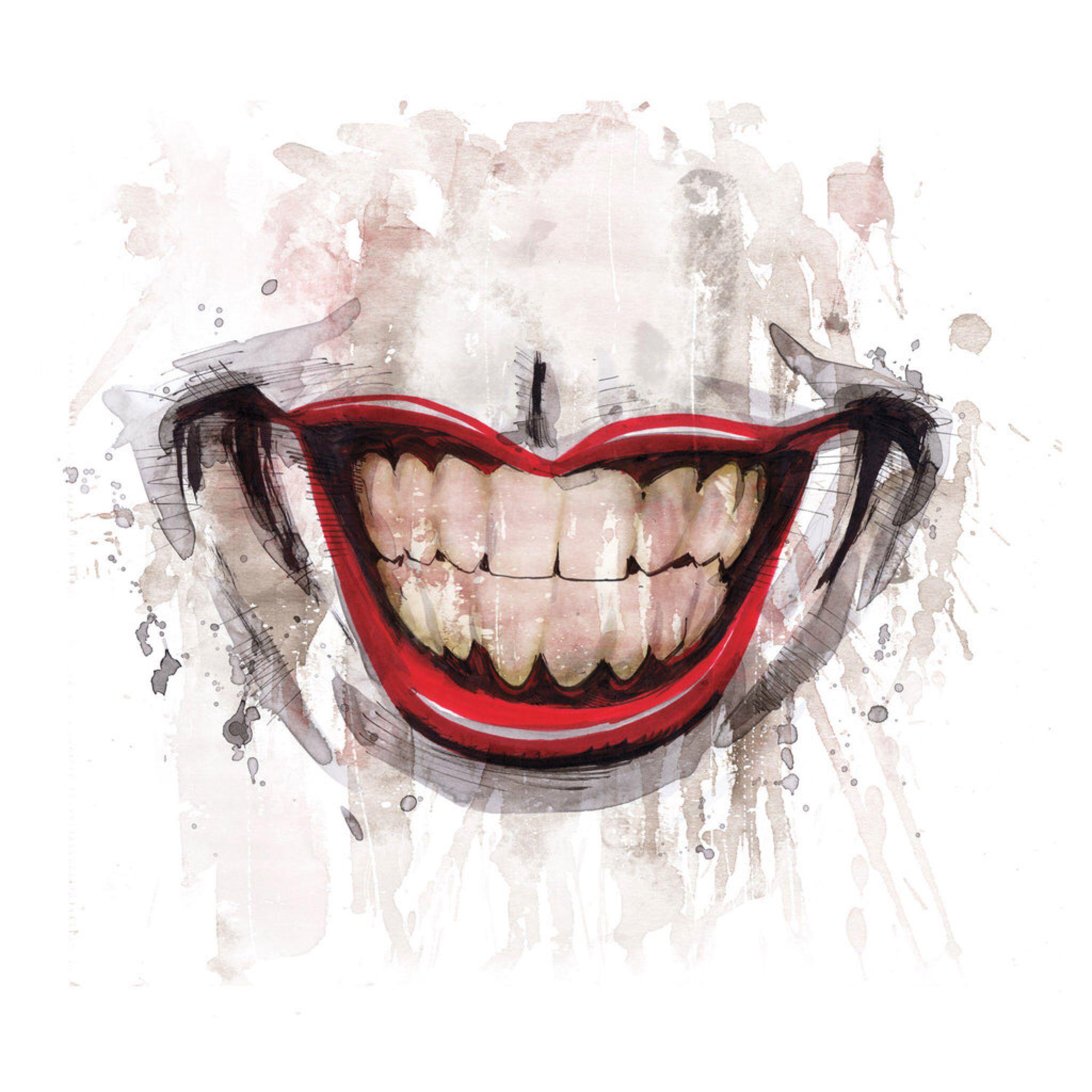 Joker Smile By Joelgomez On Deviantart Joker Smile Smile Drawing Joker Art