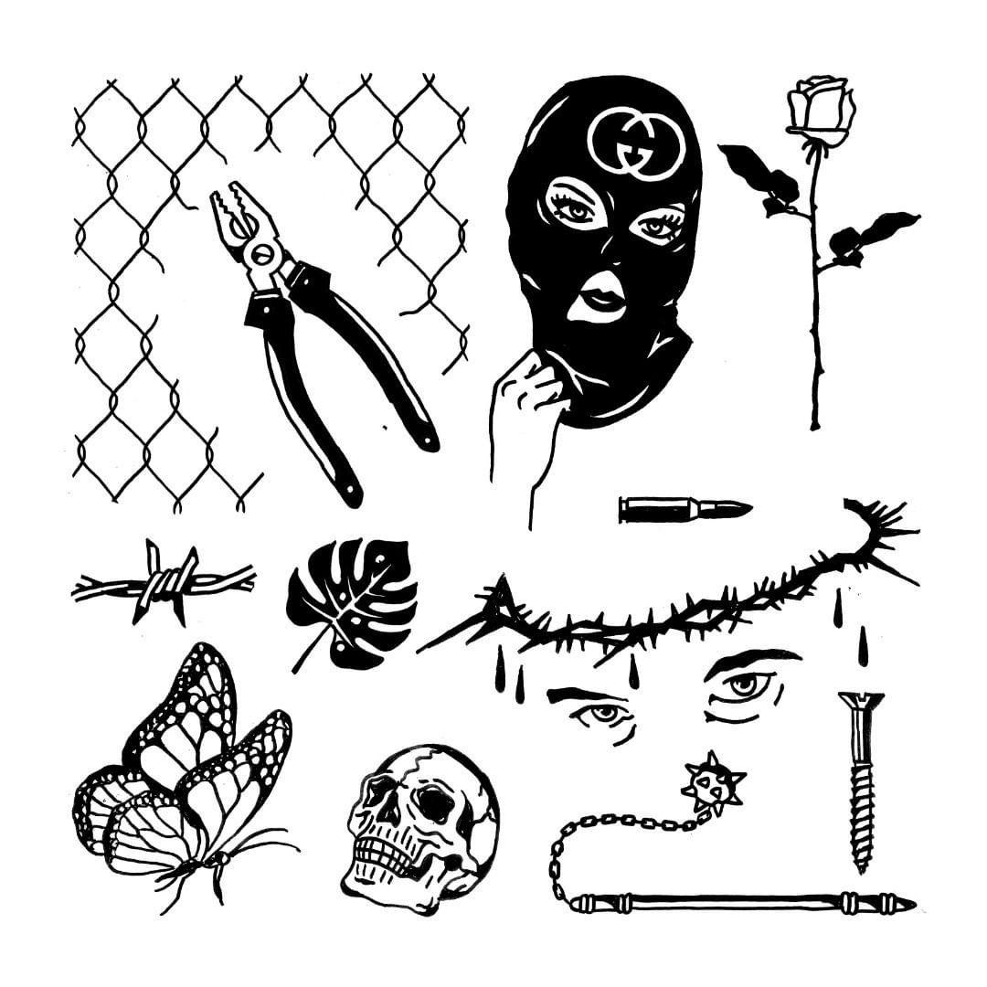 Bocetos De Tatuajes Tradicionales pin de carrillo en t i n t a | dibujos de tatuajes, bocetos