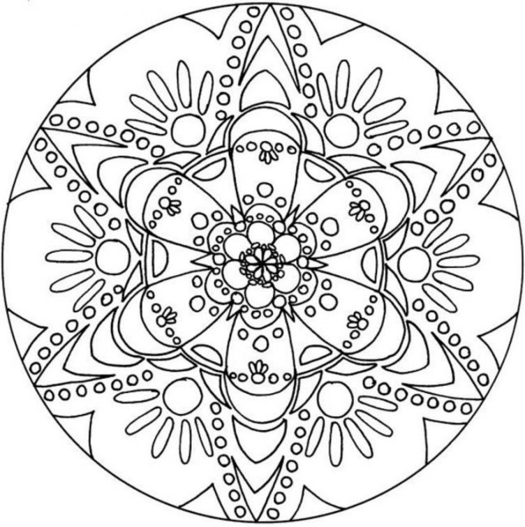 advanced adults coloring page of snowflake free printable | adult ... - Printable Coloring Pages Advanced