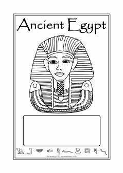 free book covers for students to create an egyptian study