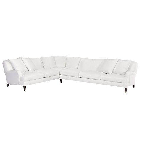 Mayfair Sectional - Sofas / Loveseats - Furniture - Products - Ralph Lauren Home - RalphLaurenHome  sc 1 st  Pinterest : ralph lauren sectional - Sectionals, Sofas & Couches