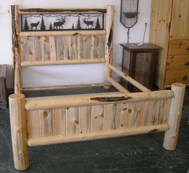 Adirondack Bark-On Crib Style Bunkbed | Bunk beds | Pinterest | Bunk ...