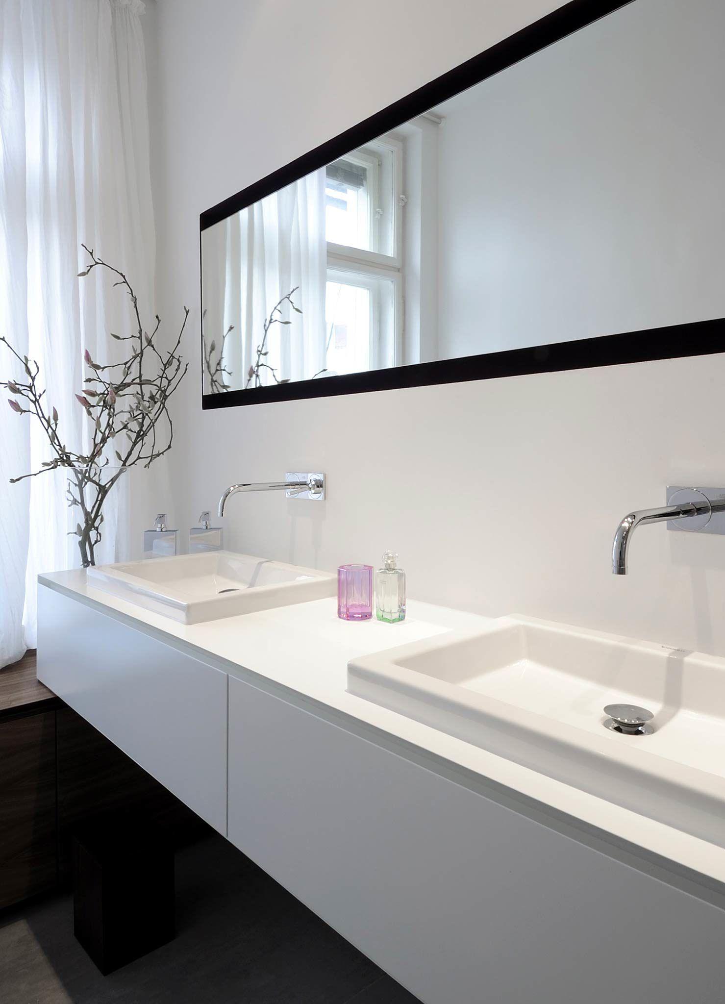 Heimwohl Badezimmer Badezimmer Badezimmer Waschbecken Doppelwaschbecken Badezimmer