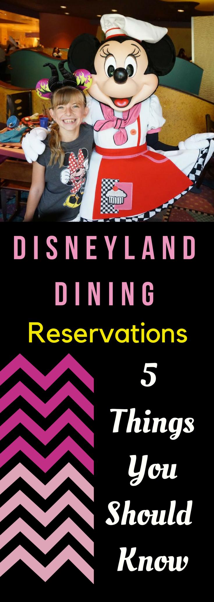 Photo of Disneyland Dining Reservations 5 Dinge, die Sie wissen sollten!