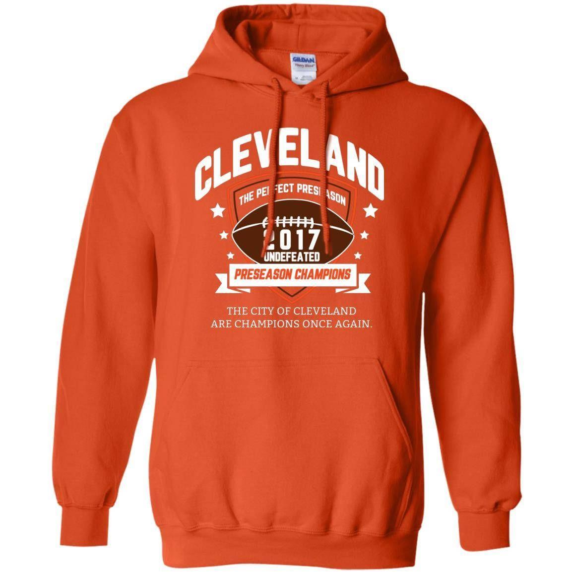 7c6dac50c4ca Cleveland Browns Sweatshirt - Cleveland Browns Preseason Champs - Cleveland Browns  Undefeated - Browns 2017 Preseason