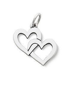 James Avery Cupid Hearts Charm