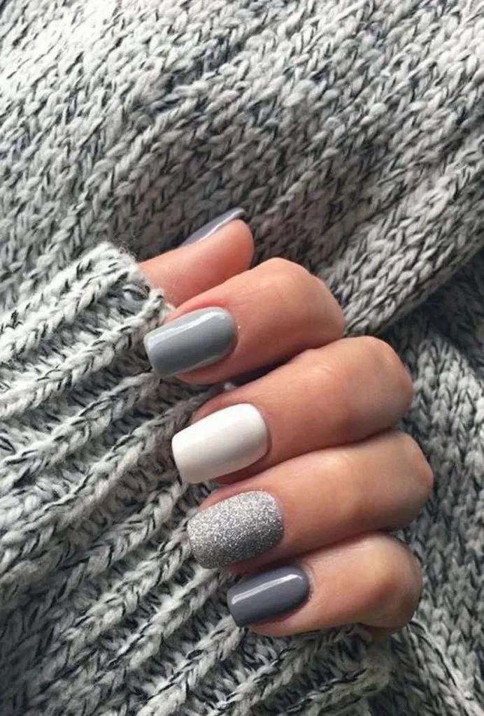 27 Classy Nail Art Design For Winter 12 – naildesing