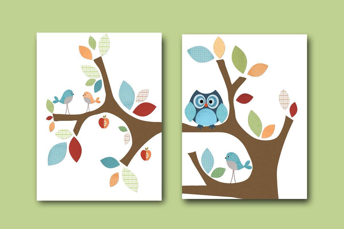 Neutral Nursery Canvas Art For Children Kids Wall Art Baby