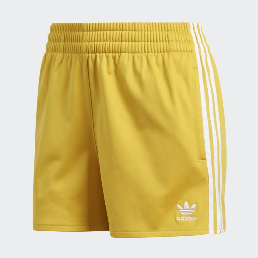cba6e0c9842f17 3-Stripes Shorts Corn Yellow CY4764 Yellow Adidas, Casual Shorts, Gym  Shorts,