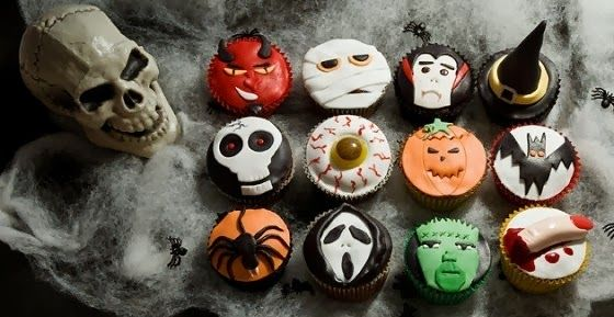 Spooky halloween cupcake decorations Cupcakes Pinterest - halloween cake decorations