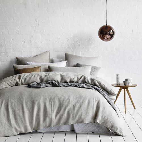 Vintage Washed Linen Current | Bedding | Pinterest | Bed linens ... : vintage washed linen quilt cover - Adamdwight.com