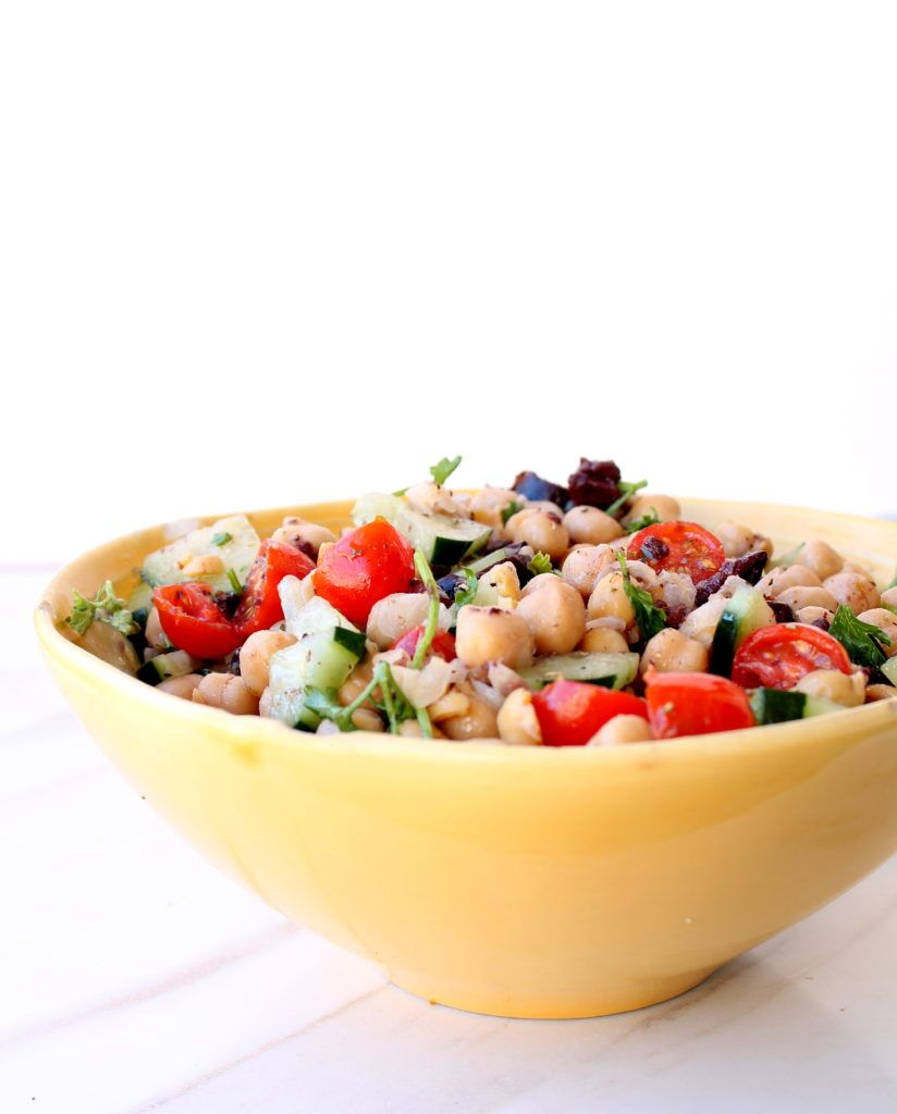 Recipes for a Delicious Veggie Picnic: Lunchbox Chickpea Salad