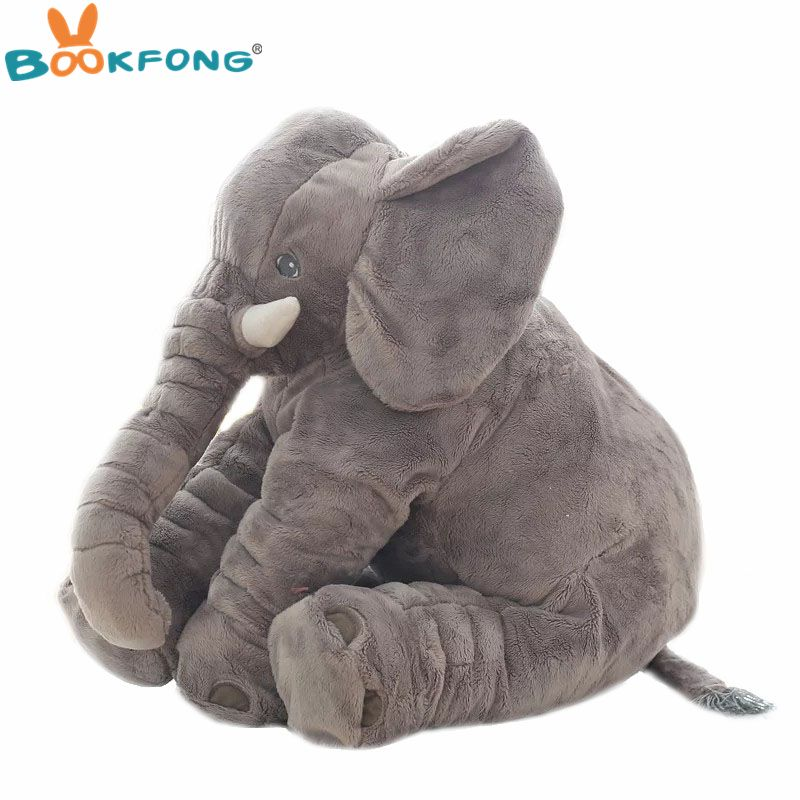 Cute Elephant Stuffed Animals  Soft Plush Toy X-mas Gift Doll For Kids Baby USA
