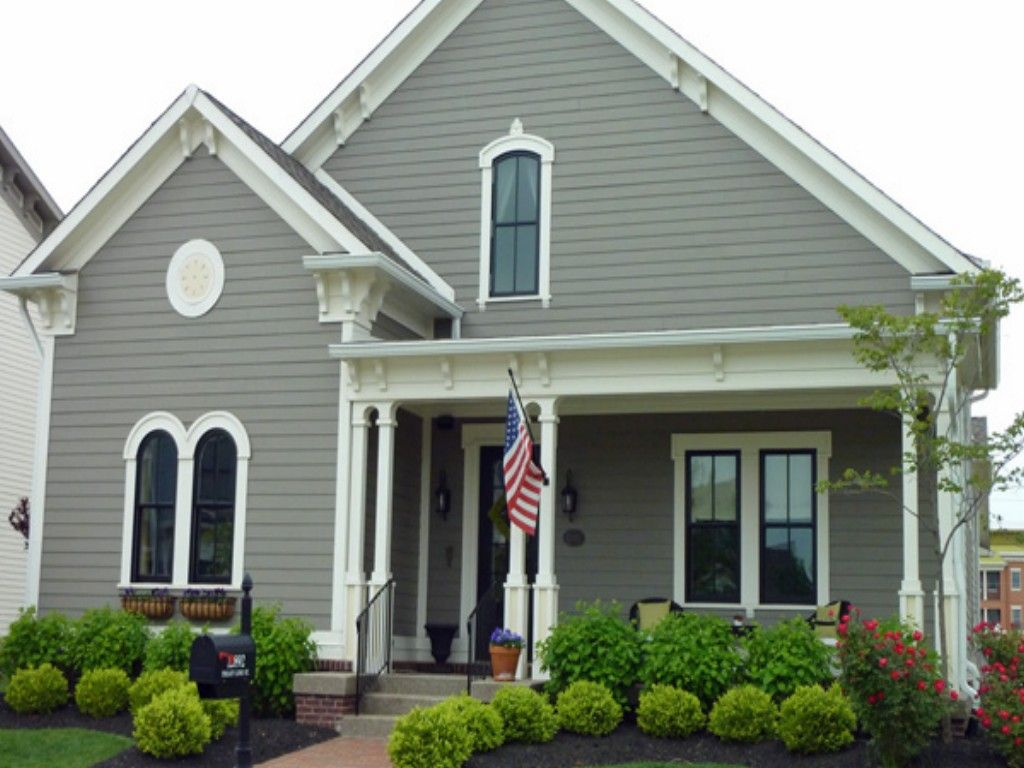 Behr Exterior Paint Color Combinations | ... color gallery of ...
