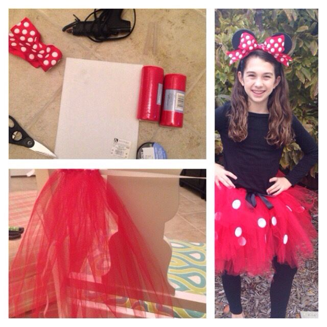 Minnie Mouse Tween Halloween Costume!  sc 1 st  Pinterest & Minnie Mouse Tween Halloween Costume!! | Halloween | Pinterest ...