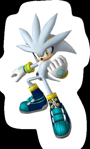 Silver Sonic Riders Zero Gravity Silver The Hedgehog Sonic Hedgehog