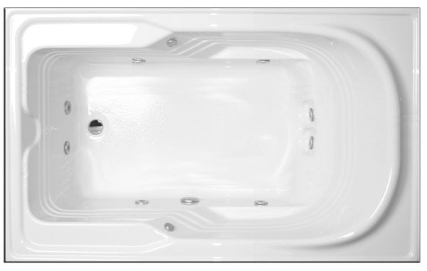 Dublin 60 X 48 Whirlpool Bathtub Bathtubsdublin Bathtubs In