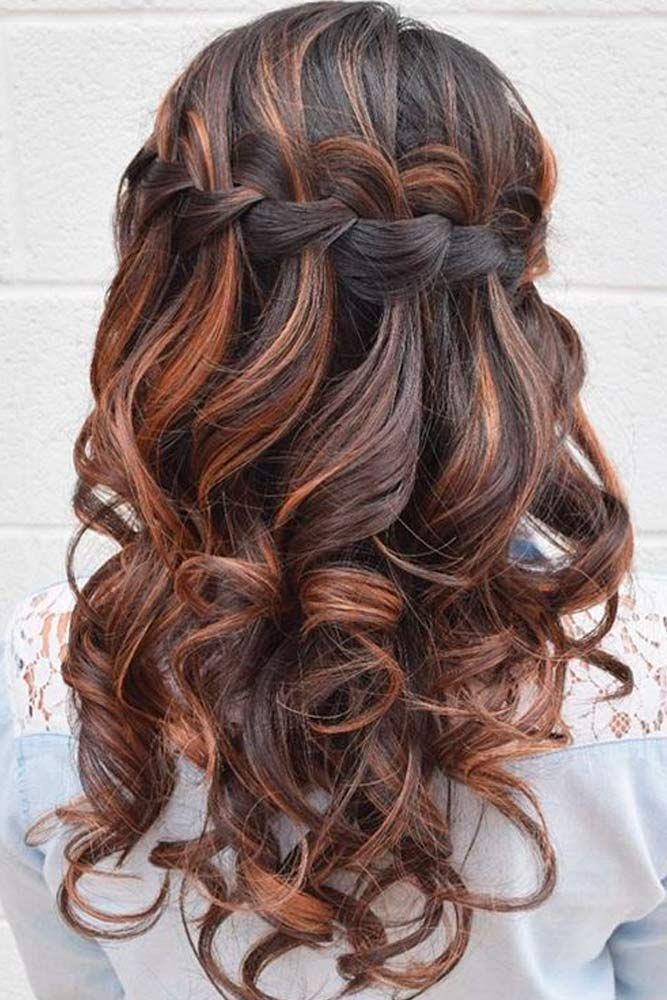 How To Do A Waterfall Braid Step By Step See More Http Lovehairstyles Com How To Do A Waterfall Braid Hair Styles Cool Braid Hairstyles Long Hair Styles