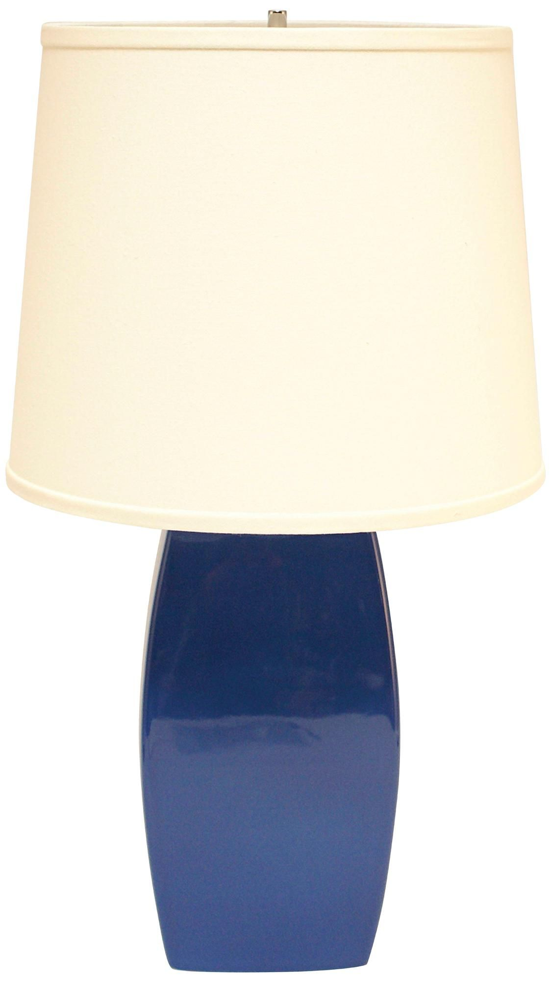 Haeger Potteries Blue Ceramic Soft Rectangle Table Lamp P1906 Lamps Plus Table Lamp Lamp Ceramic Lamp Base