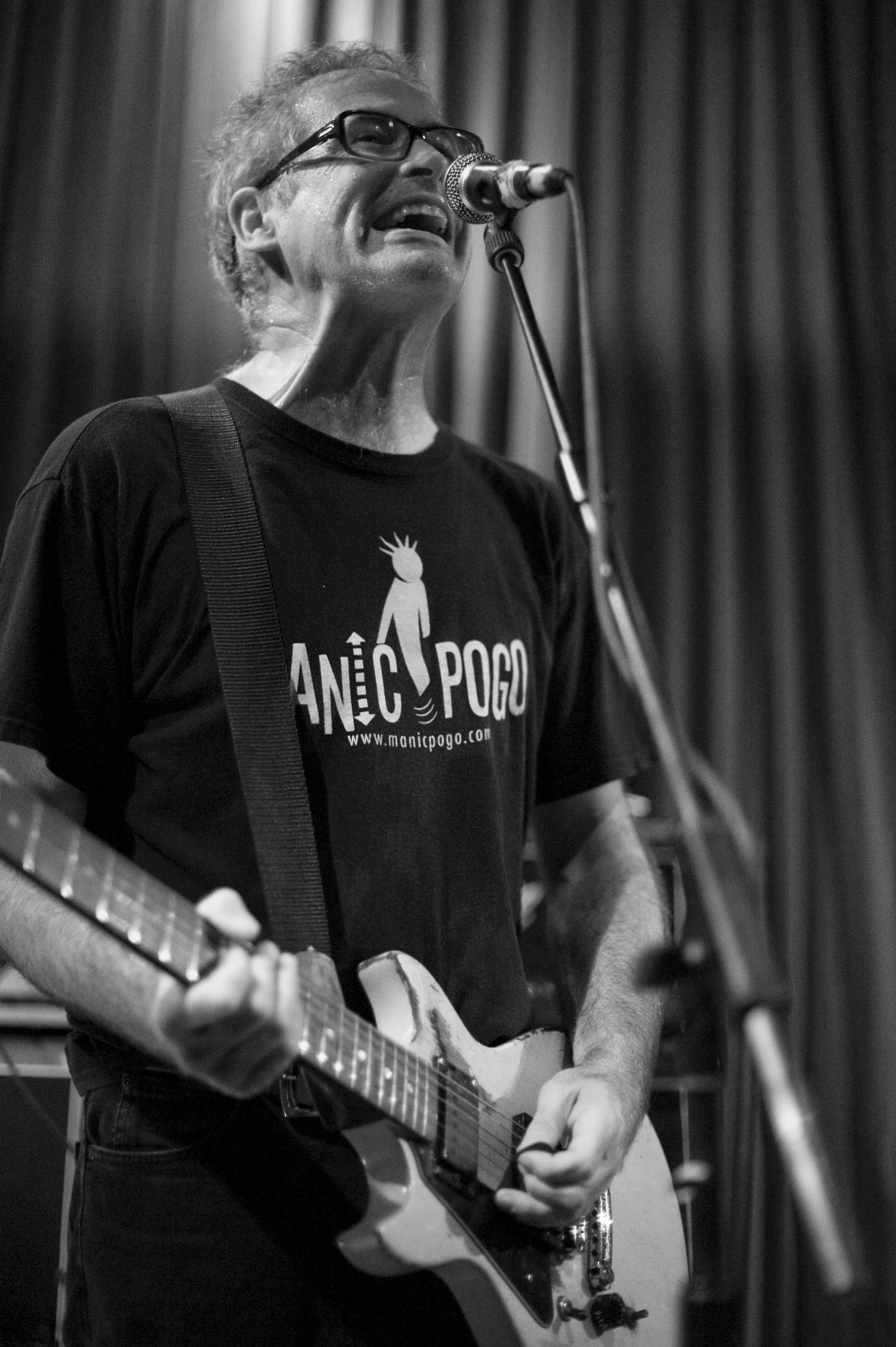 Tom Holliston of NoMeansNo in Liverpool, England 2012