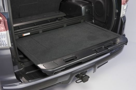 2013 Toyota 4runner Limited Sliding Rear Cargo Deck And