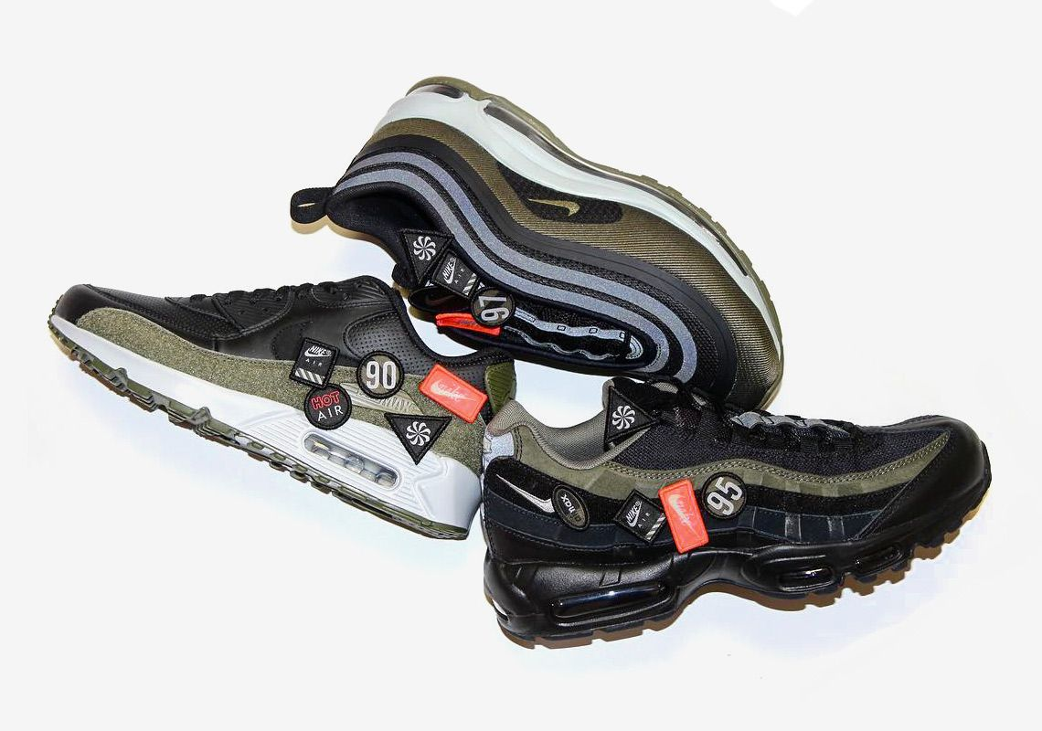 OFF WHITE x Nike Air Max 90 Black To Release In October