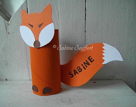Fuchs-Platzkarte #winterkleuters