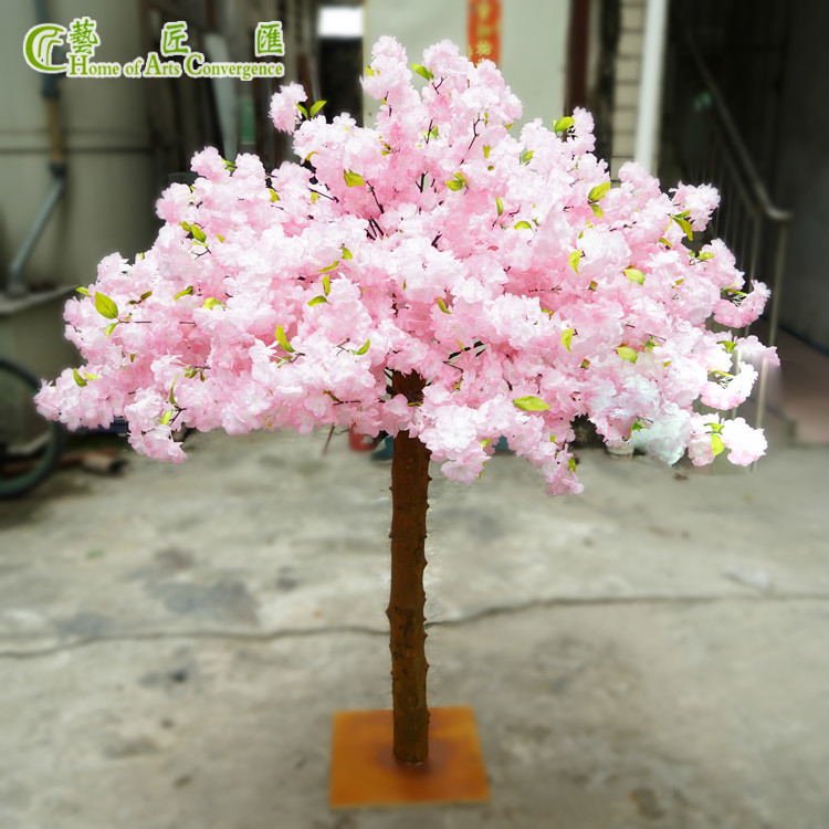 Fake Bloom Tabletop Centerpiece Trees Event Props Pink Event Props Corporate Events Decoration Wedding Decorations