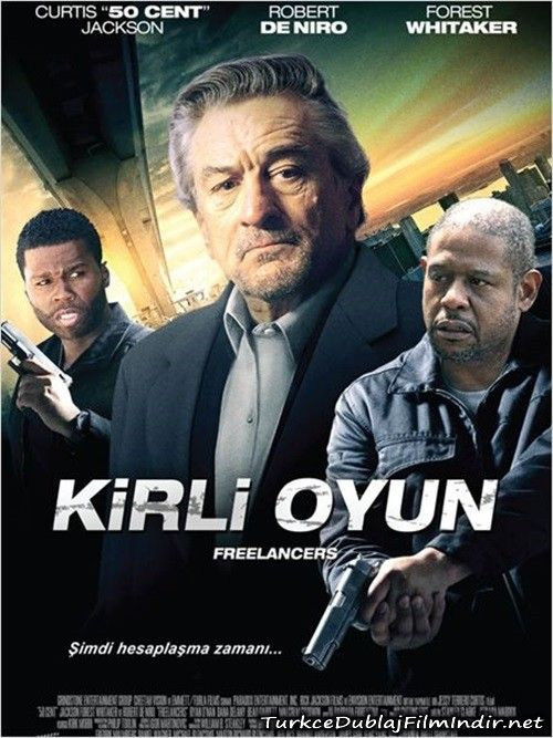 Kirli Oyun Freelancers 2012 Brrip Film Afis Movie Poster